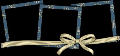 Tritiques cadre bleu foncé