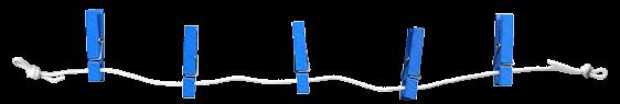 Epingles Bleu