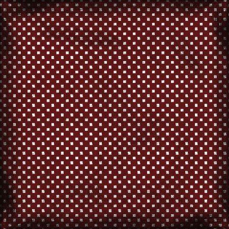 Fond rouge moucheti de noir