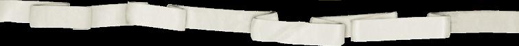 Lanière blanche